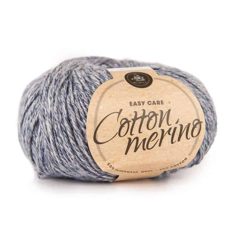 Image of Mayflower Cotton Merino 211 Jeansblå