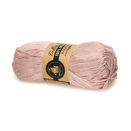 Image of   COTTON 8/4 ORGANIC ØKO (07) STØVET ROSA