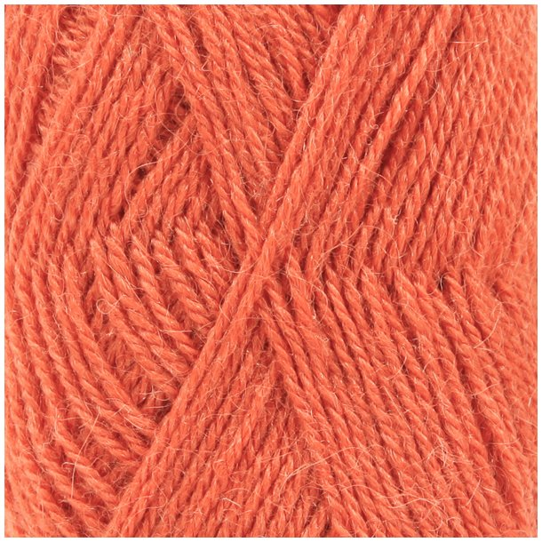 Drops Alpaca Garn 2915 Orange Unicolour