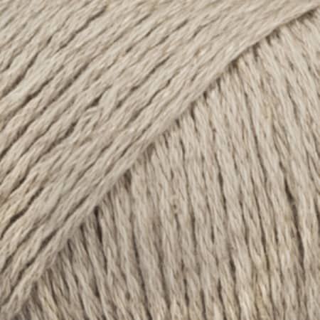Image of Drops Bomull-lin Garn 11 Beige Unicolour
