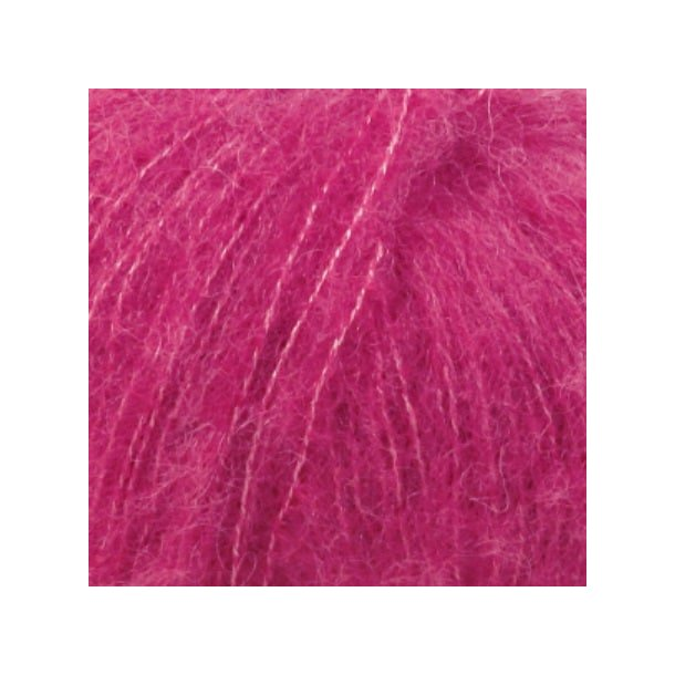 Drops Brushed Alpaca Silk Garn 18 Cerise Unicolour