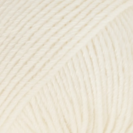 Image of Drops Cotton Merino Garn 01 Natur Unicolour