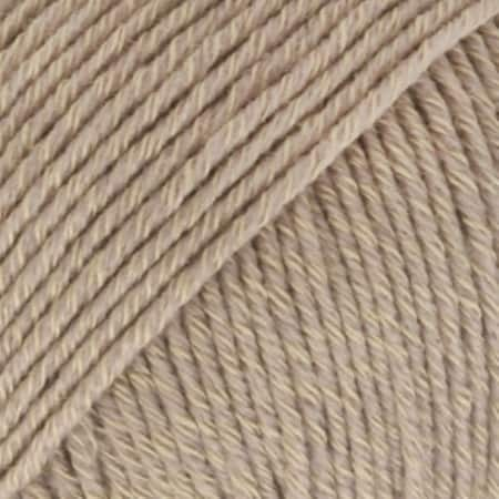 Image of Drops Cotton Merino Garn 03 Beige Unicolour