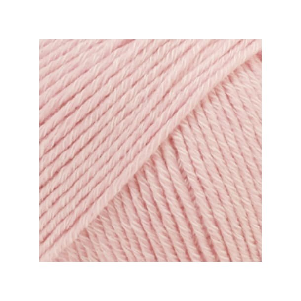 Drops Cotton Merino Garn 05 Støvet Rosa Unicolour