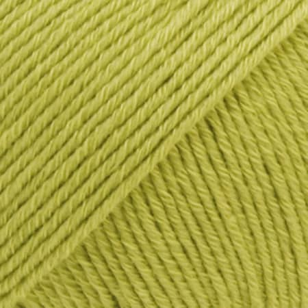 Image of Drops Cotton Merino Garn 10 Pistacie Unicolour