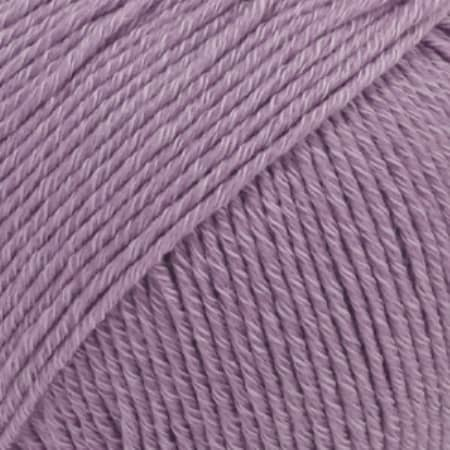 Image of Drops Cotton Merino Garn 23 Lavendel Unicolour