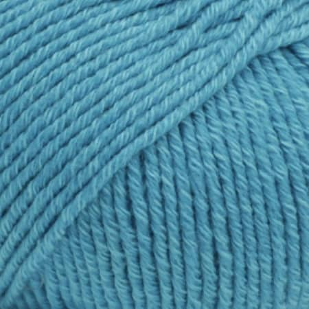 Image of Drops Cotton Merino Garn 24 Turkis Unicolour