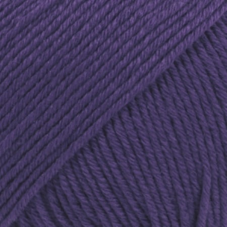 Image of Drops Cotton Merino Garn 27 Violet Unicolour