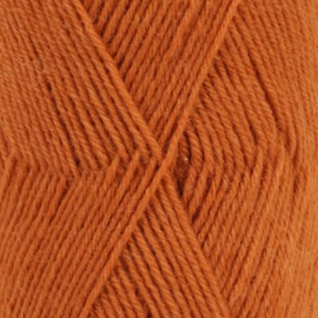 Image of Drops Fabel Garn 110 Rust Unicolour