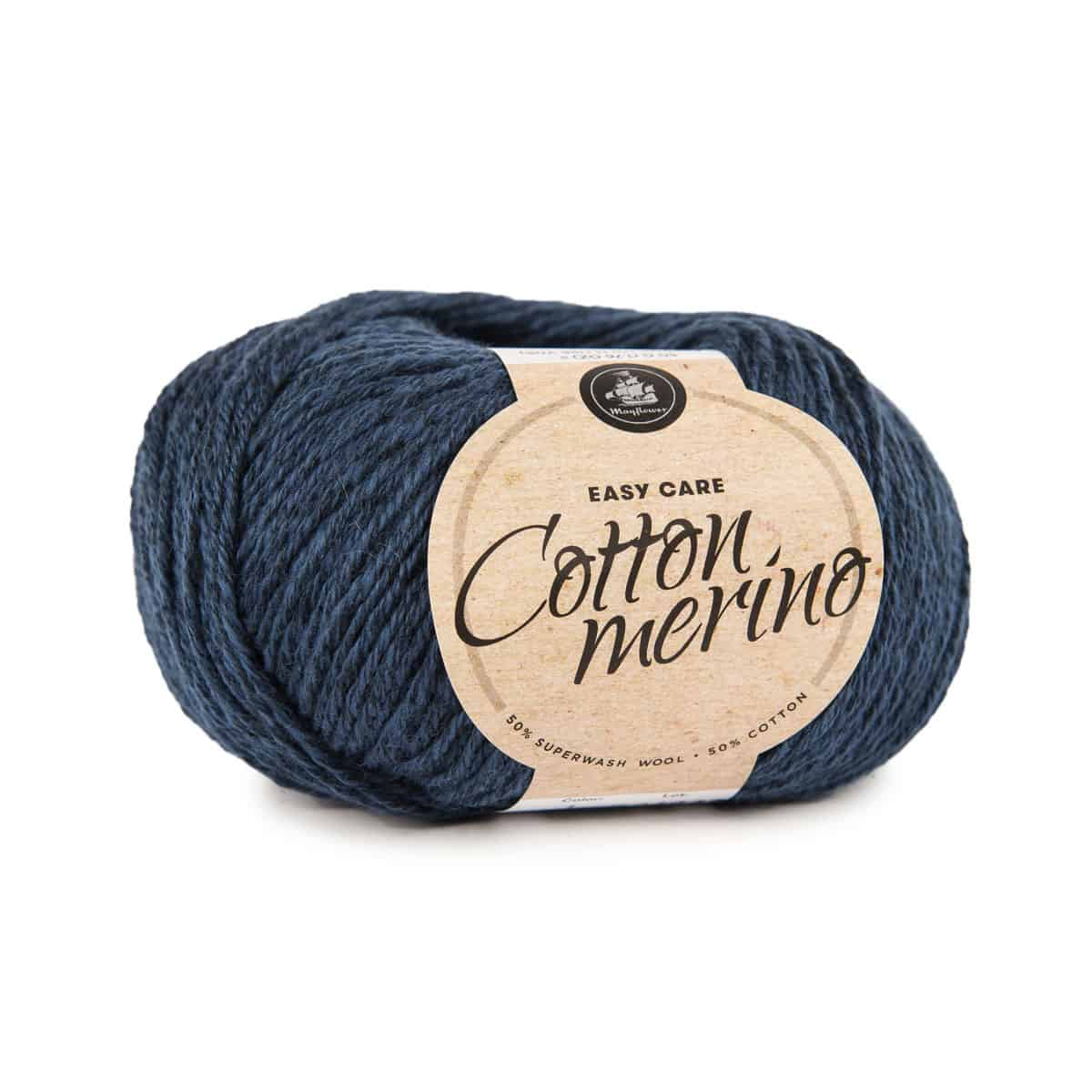 Image of Mayflower Cotton Merino (S01) Midnatsblå