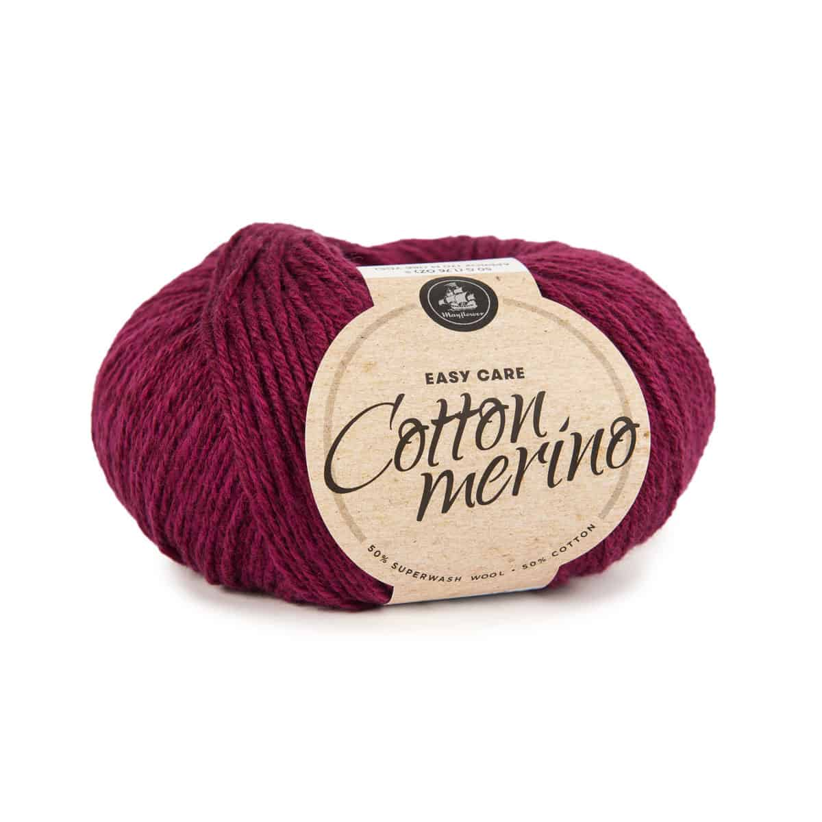 Image of Mayflower Cotton Merino (S05) Kirsebærrød