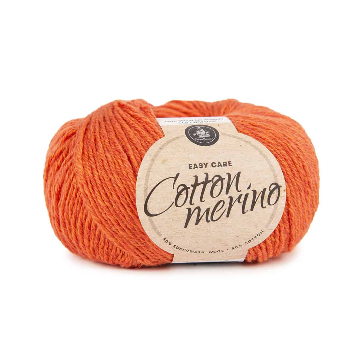 Image of Mayflower Cotton Merino (S07) Orange