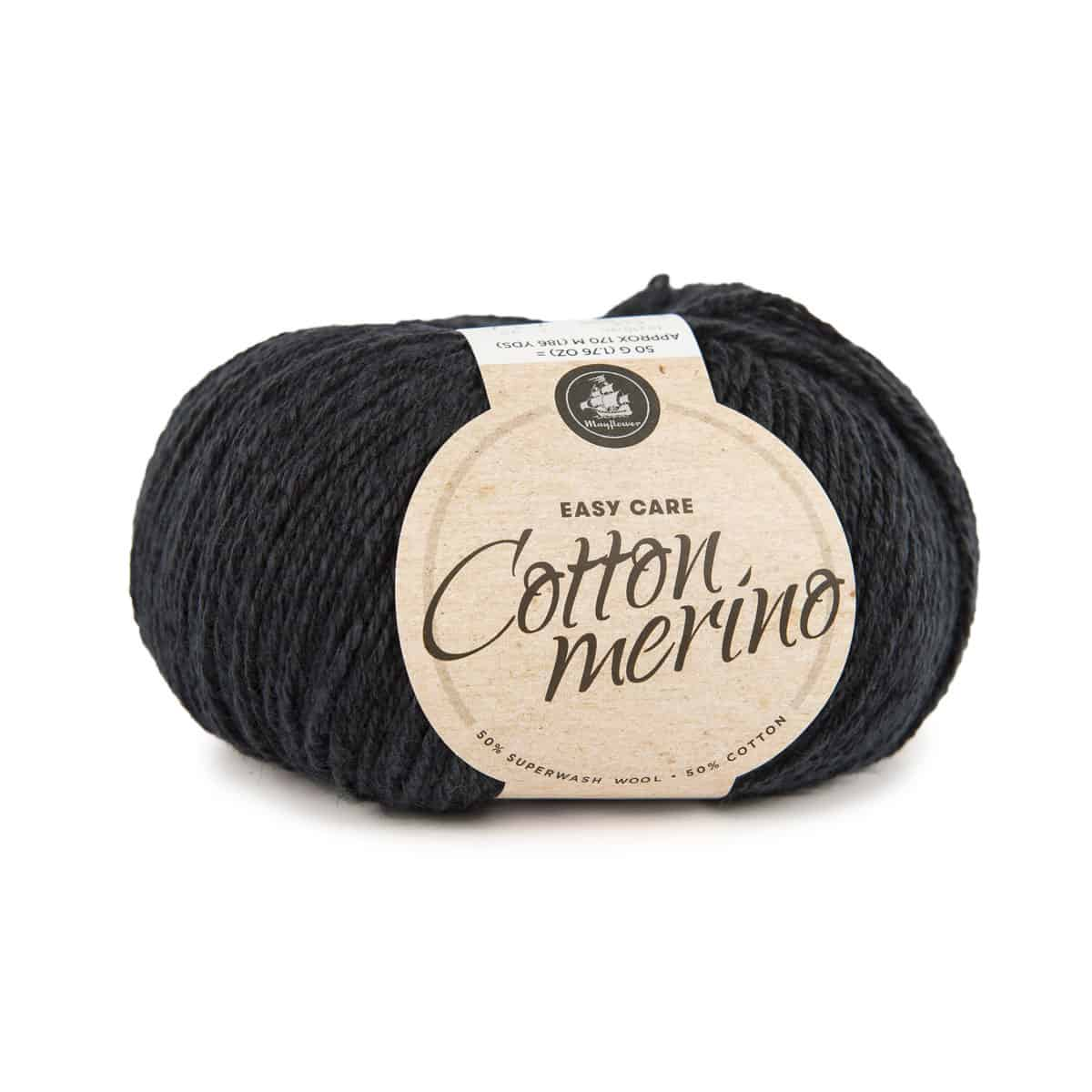 Image of Mayflower Cotton Merino (S09) Mørk Marineblå