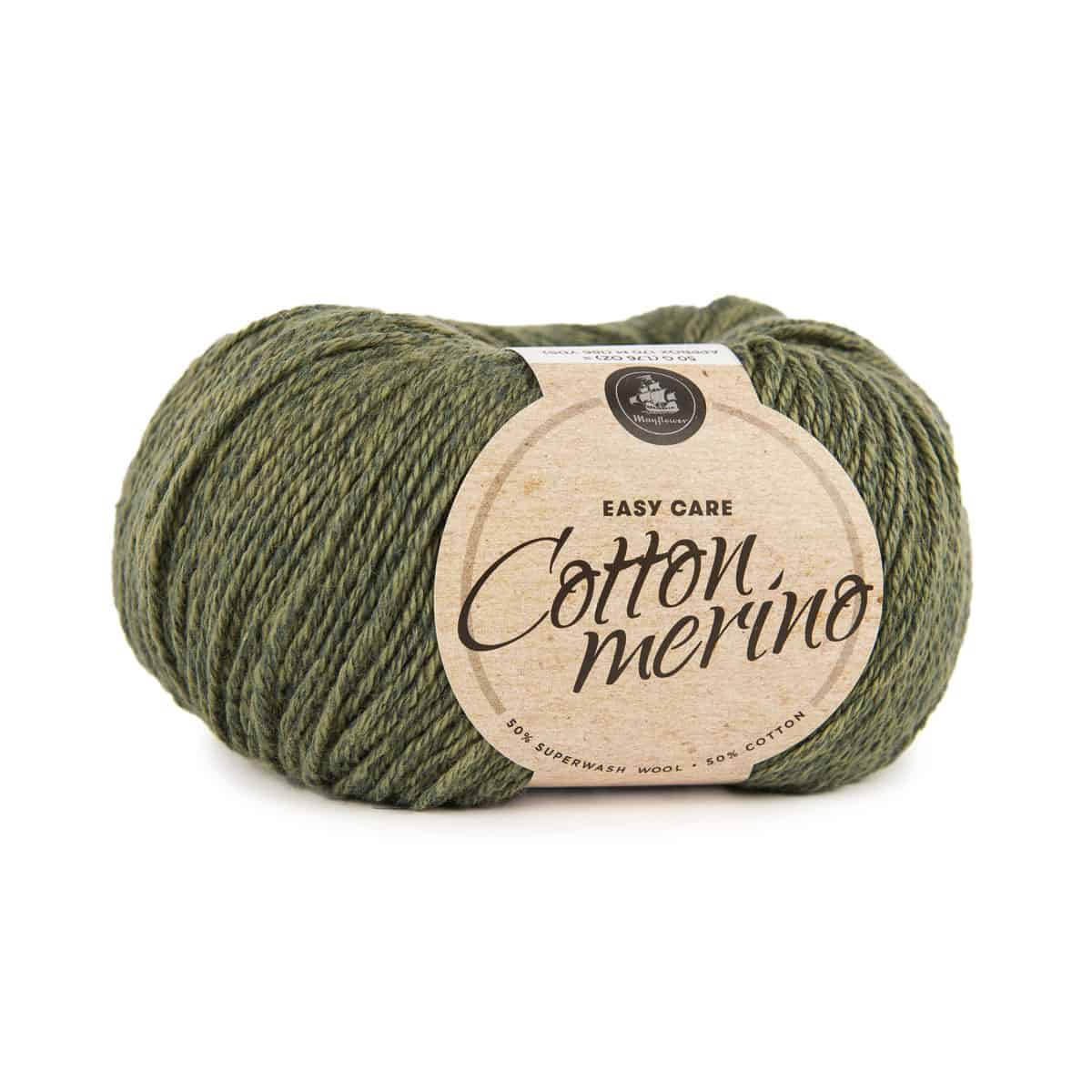 Image of Mayflower Cotton Merino (S13) Mørk Oliven